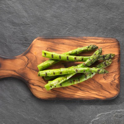 Chargrilled and Barmarked English Asparagus Spears