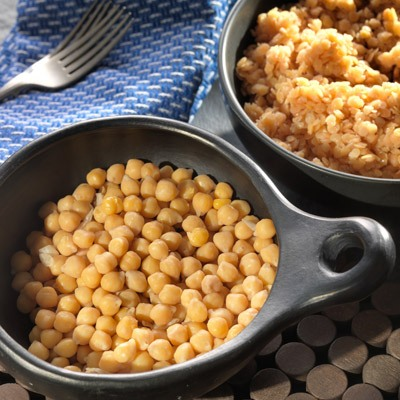 Cooked Chickpeas and Lentils